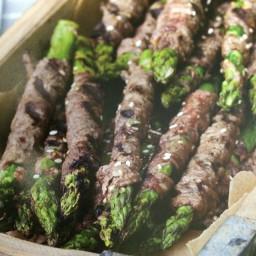 Korean Beef-Wrapped Asparagus