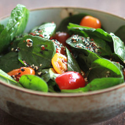 Korean Spinach Salad