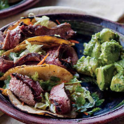 Korean Steak Tacos