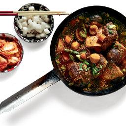 Korean-Style Braised-Short-Rib Stew