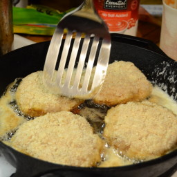 Kotlety Pozharskie (ground Chicken Cutlets)