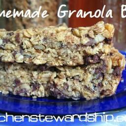 KS Healthy Granola Bar Recipe