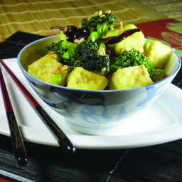 Kung Pao Broccoli and Tofu