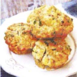 L&A Bacon Kale Cheddar Muffins