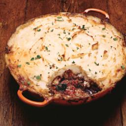 Lamb and Eggplant Shepherd's Pie
