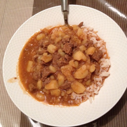 Lamb & Potato Stew (Lebanese Cuisine)