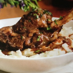 Lamb Shanks Braised With Cinnamon And Honey