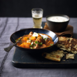 Lamb & sweet potato makhani