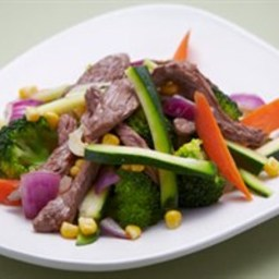 Lamb & Vegetable Stir Fry