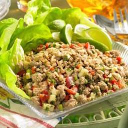 Larb Chicken Salad