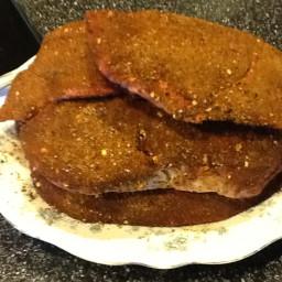 Latin Dry Rub Grilled Flank Steak