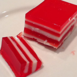 Layered Jello Bars