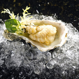 Lee Anne's Deep-Fried Oysters with Lemon Cream