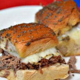 Leftover Roast Beef Sliders