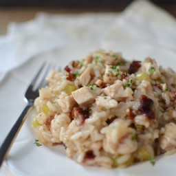Leftover Thanksgiving Risotto