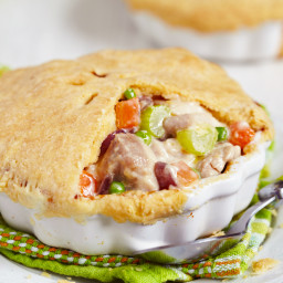 Leftover Turkey Pot Pie