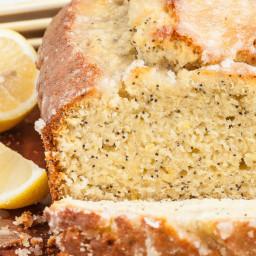 Lemon Almond Poppy Seed Bread