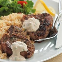 Lemon and Oregano Lamb Chops