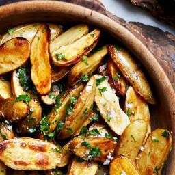 Lemon and Parsley Skillet-Roasted Fingerling Potatoes