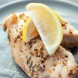 Lemon And Thyme Chicken Recipe