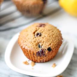 Lemon Berry Spelt Flour Muffins