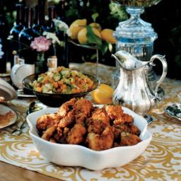 Lemon-Brined Fried Chicken