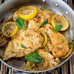 Lemon Butter Chicken Breasts