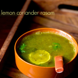 lemon coriander rasam recipe