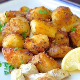 Lemon Herb Roasted Potato Nuggets