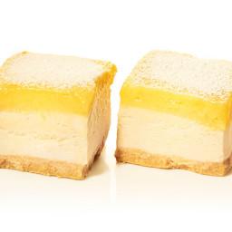 Lemon Ice Cream Bars