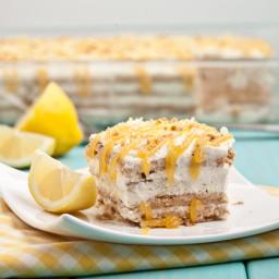 Lemon Icebox Cake (No Bake!)