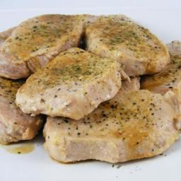 Lemon Pepper Pork Medallions