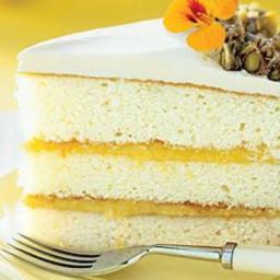 Lemon-Pistachio Crunch Cake