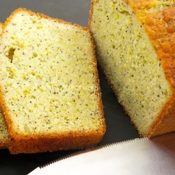 Lemon-Poppy Seed Loaf Cake