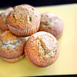 Lemon Poppyseed Muffins