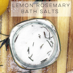Lemon Rosemary Bath Salts