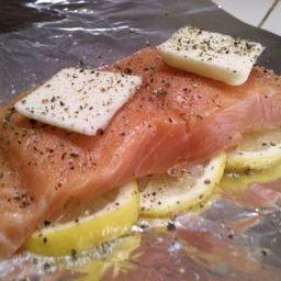 Lemon Salmon Foil Packets