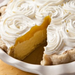 Lemon Truffle Pie