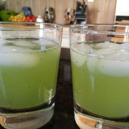 Lemon and Mint Juice
