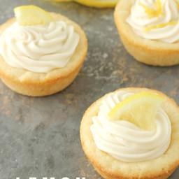 Lemon Cookie Cups