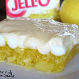 Lemon Jello Delight