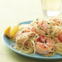 Lemony Shrimp Scampi
