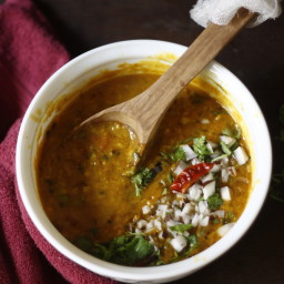 Lentil/ Dal in coconut milk
