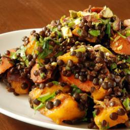Lentil Dal with Mango