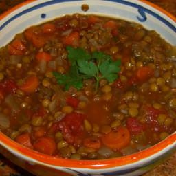 Lentil Soup - Student's Vegetarian Cookbook