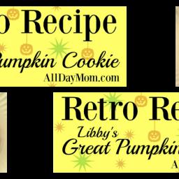 Libby's Great Pumpkin Cookie Recipe