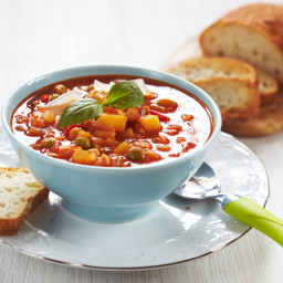 Light and Easy Minestrone Soup