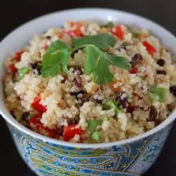 Lime-Cilantro Quinoa Salad (pronounced keen-wah)