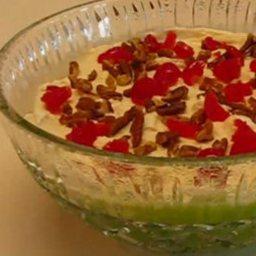 Lime Mist Gelatin Salad