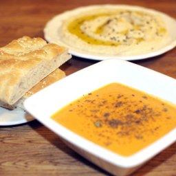 linssoppa med grönsaker